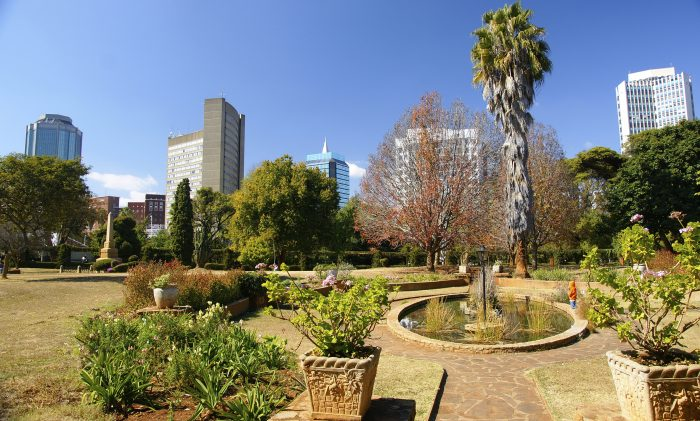 Harare Central Park.