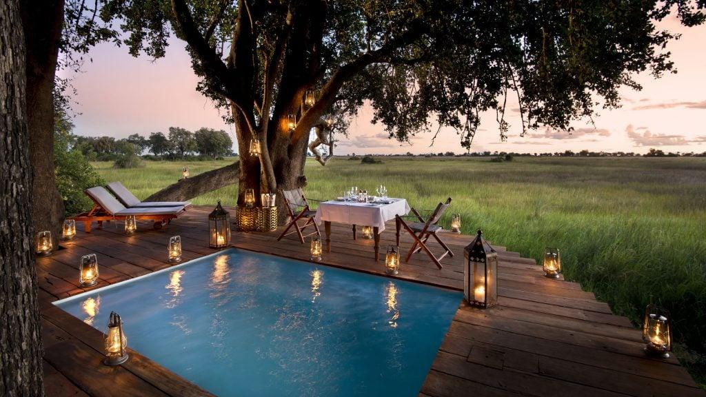 Pool, Duba Plains, Botswana