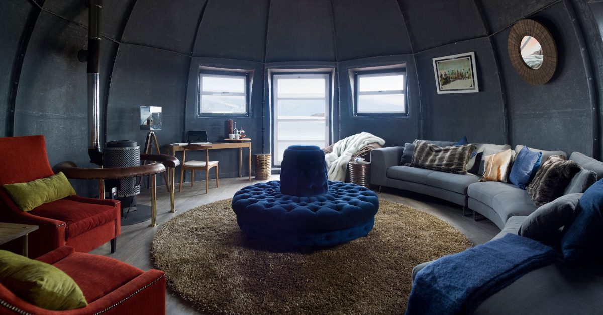 Whichaway Camp - dormire in Antartide (courtesy of Jacada Travel)