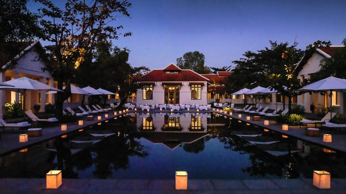 Amantaka luxury hotel in luang prabang jacada travel for Luxury hotels in laos