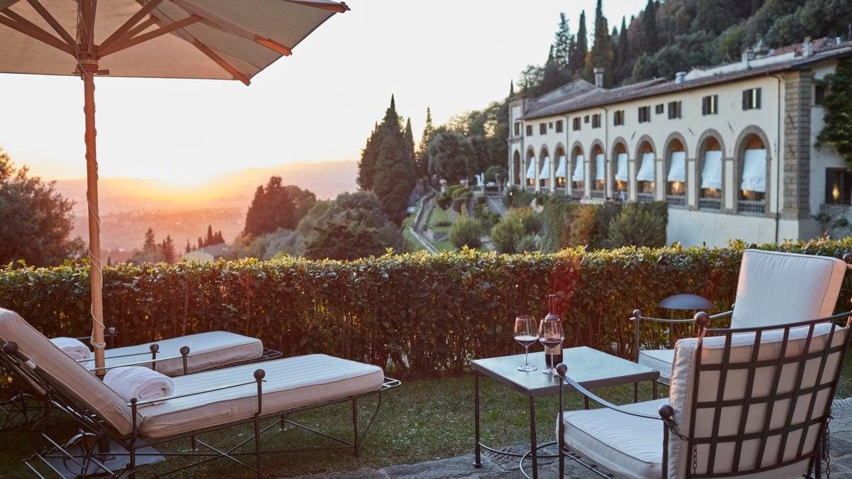 belmond villa san michele luxury hotel in florence. Black Bedroom Furniture Sets. Home Design Ideas
