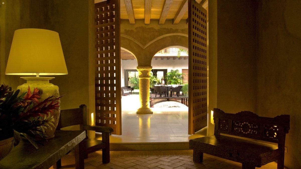 Hotel Boutique Ananda Luxury Hotel In Cartagena Jacada