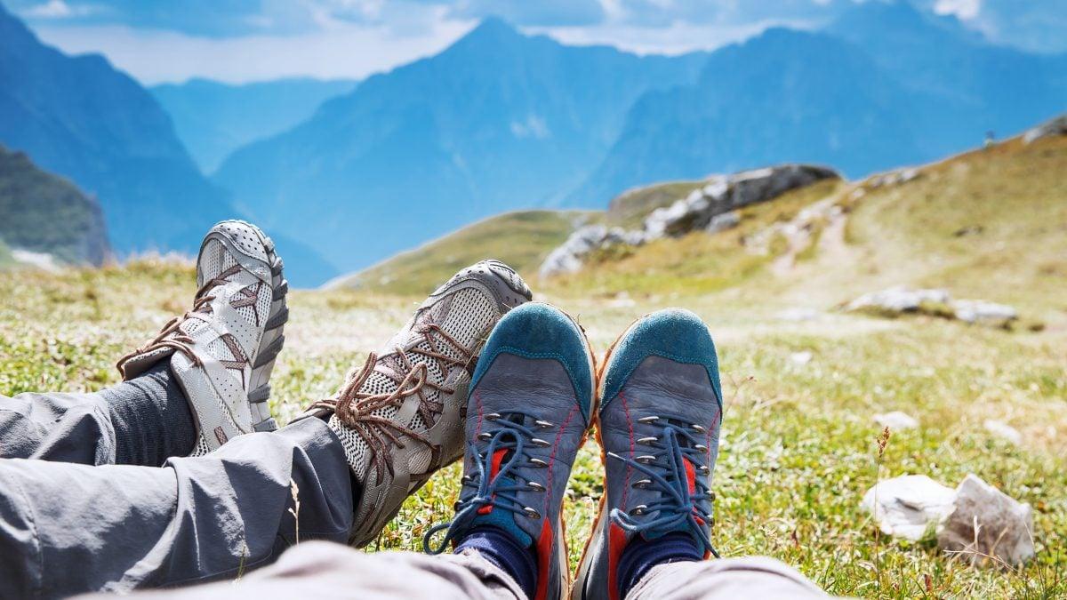 Travel trekking leisure holiday concept.