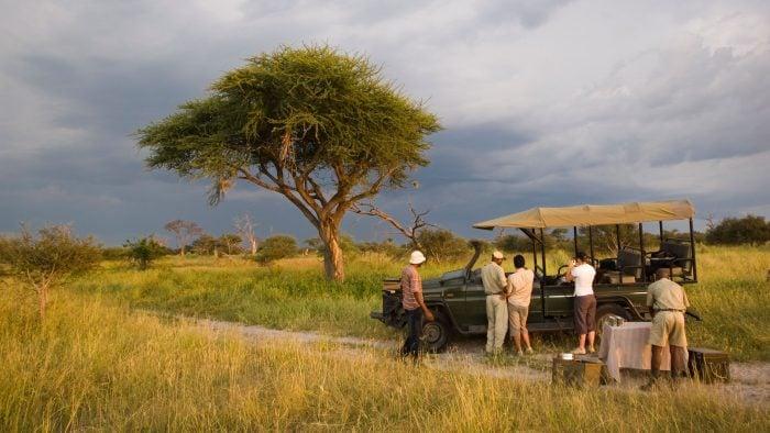 Sandibe, Okavando Delta, Botswana