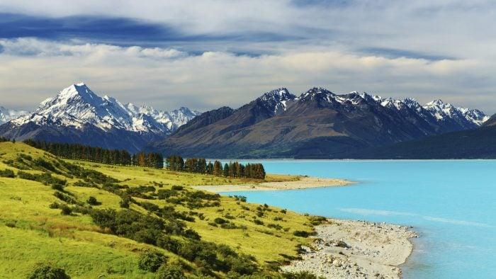 Pukaki popular New Zealand lakes
