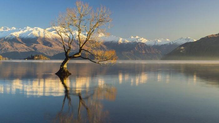 Wanaka popular New Zealand lakes