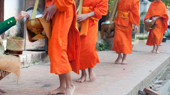 Luang Prabang Monks, Laos