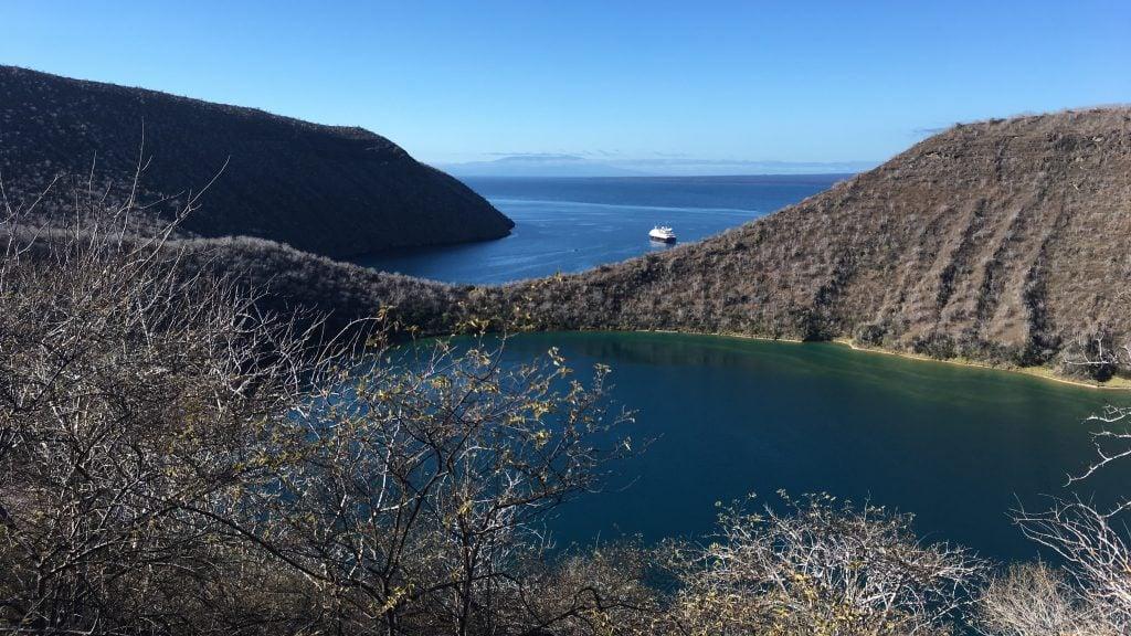 Darwin Lake, Galapagos, Lily Bunker.
