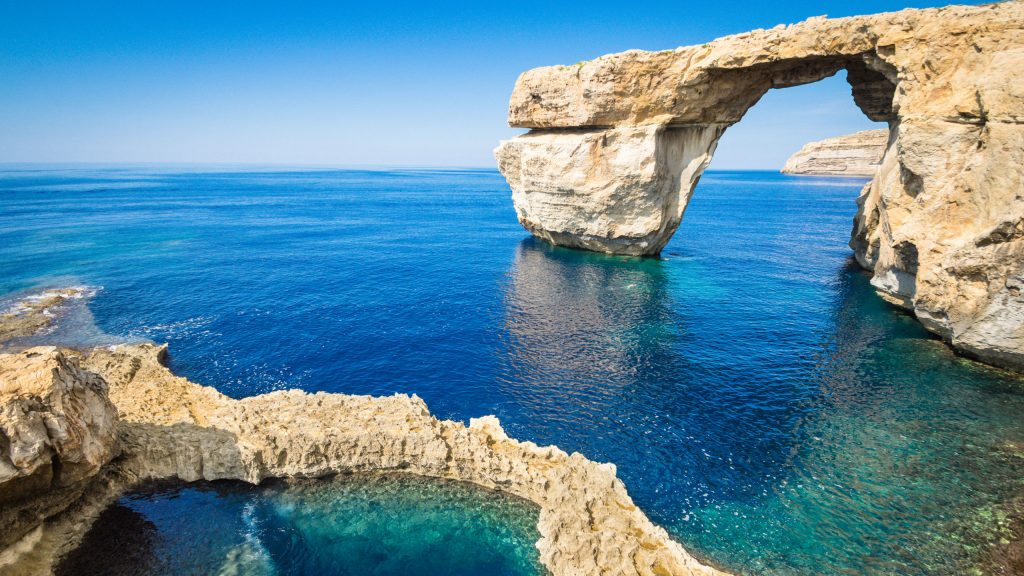 The Azure Window, Malta.