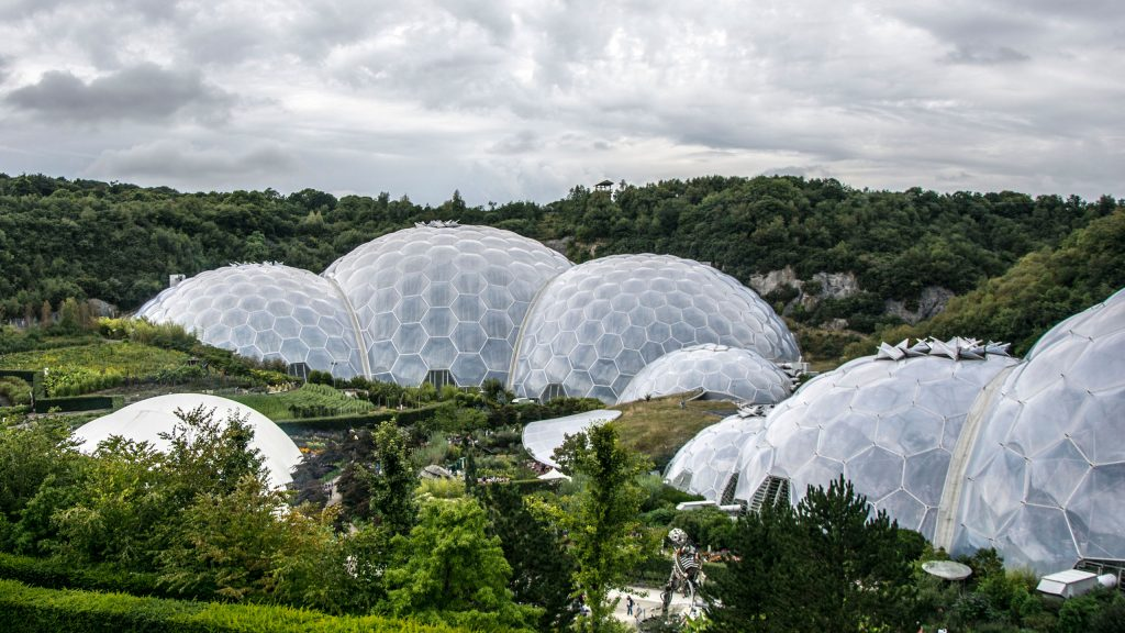 Eden Project, Cornwall, UK.