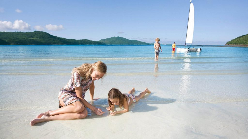 Family Beach Sailing Holiday