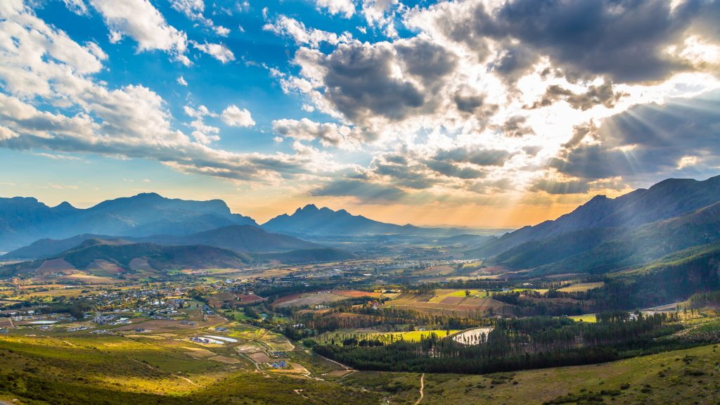 Franschhoek, South African winelands