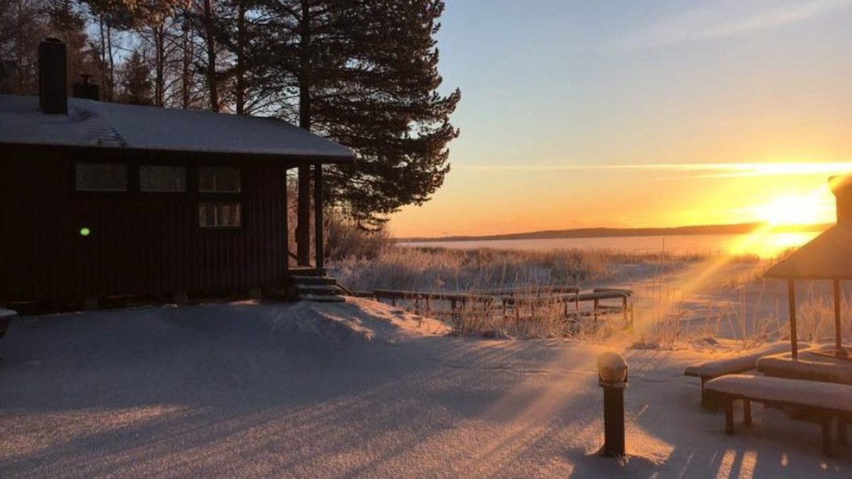 Pine Bay Lodge Luxury Hotel In Swedish Lapland Jacada