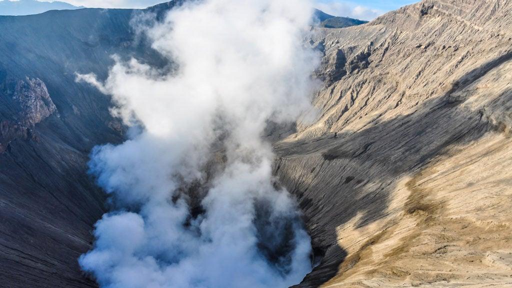 bromo-crater