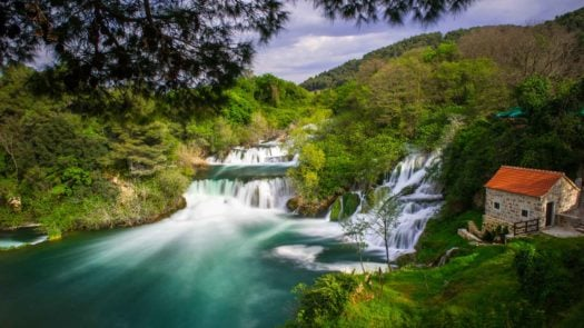 Krka Waterfalls National Park, Croatia