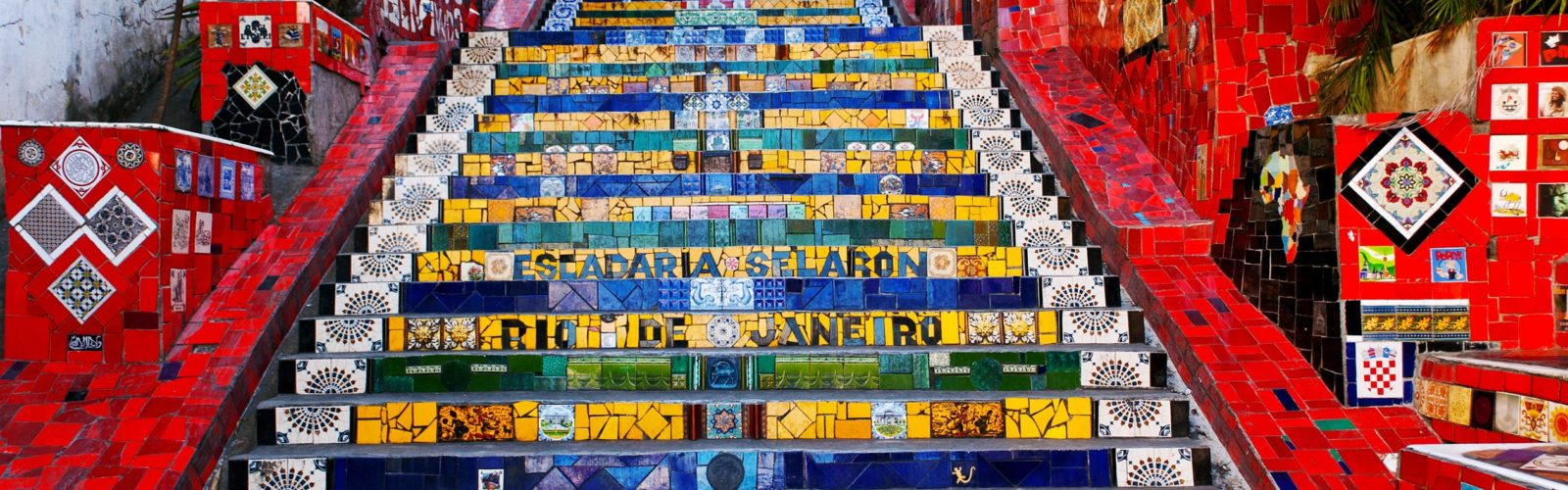 Painted Stairs Rio Brazil