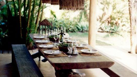 Dining, Uxua, Trancoso, Brazil