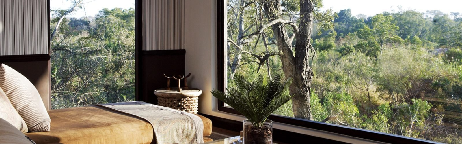 Pioneer Camp, suite view, Londolozi, Sabi Sands, South Africa