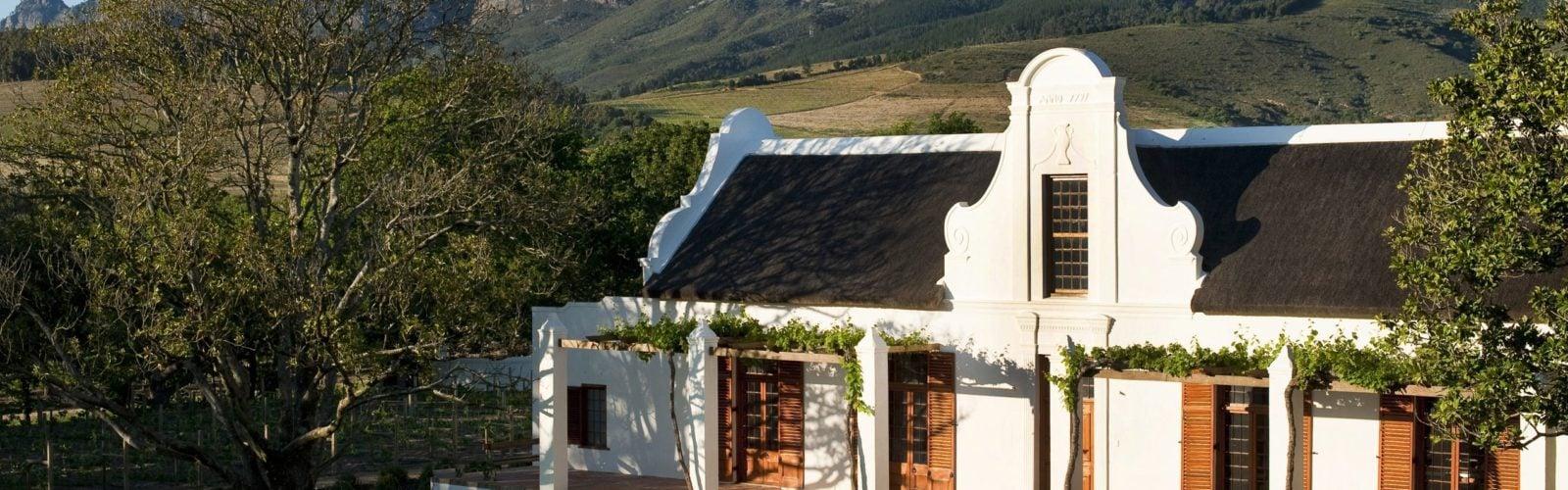 Exterior view, Babylonstoren, The Winelands, South Africa