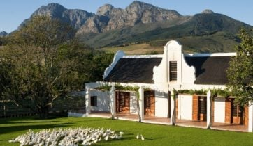 Exterior view, Babylonstoren, The Winelands, South Africa