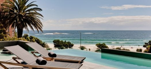 Beachfront decking, POD, Camps Bay, Cape Town, South Africa