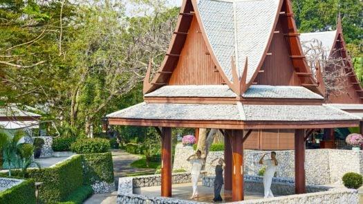 Moving meditation, Chiva Som, Thailand