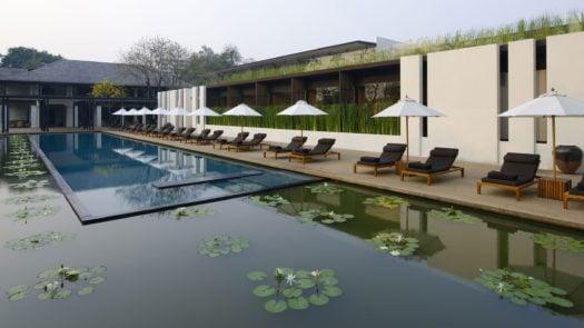 Hotel Pool, Anantara Chiang Mai/Chedi Chiang Mai Resort & Spa, Thailand