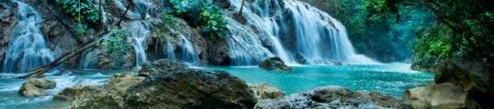 Lapopu Waterfall Nihi Sumba Island Indonesia