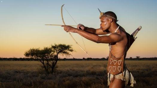 Kalahari, Botswana, Bushman