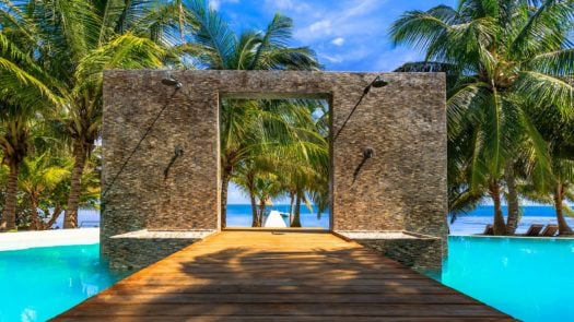 Infinitiy Dock, El Secreto Belize, Ambergris Caye, Belize