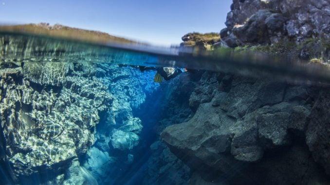 Silfra Snorkelling, Thingvellir National Park, Iceland