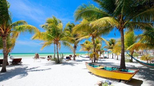 Beach, Holbox Island, Mexico