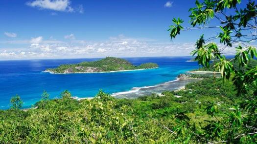 Mahe Island, the Seychelles