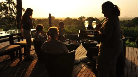 sunset-drinks-galapagos-safari-camp