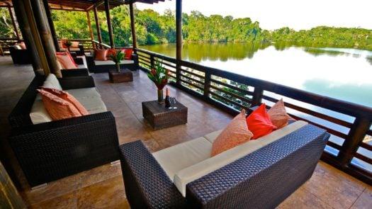 Terrace, La Selva Ecolodge, The Amazon, Ecuador