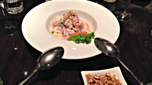 Ceviche at Limo, Peru
