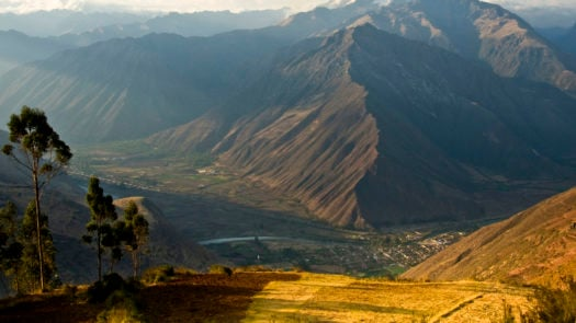 Dusk over the Sacred Valley, Peru