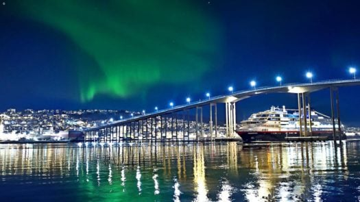 Hurtigruten in Tromso