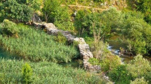 Kudin Bridge Krupa River