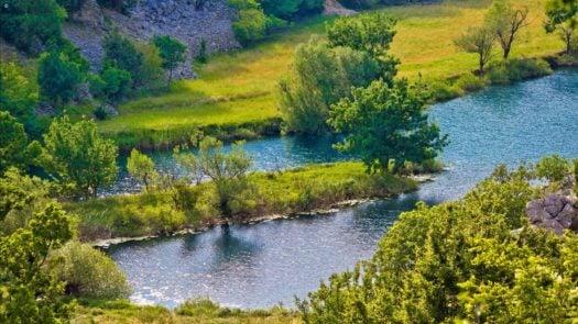 River Krupa Croatia