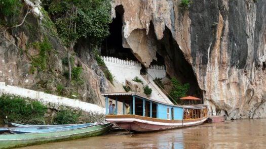 The Pak Ou caves, Luang Prabang, Mekong River, Laos