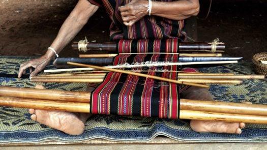 Weaving, Luang Prabang, Laos