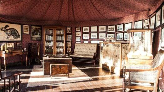 Interior, Jack's Camp, Makgadikgadi Pans, Botswana