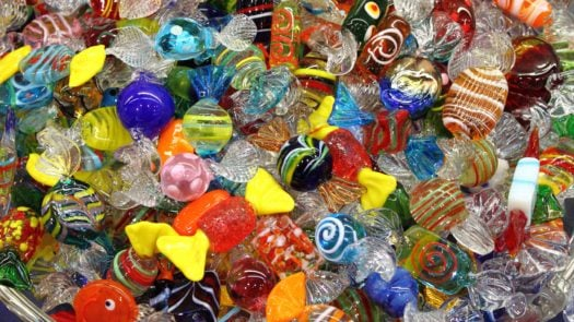 Murano Glass Sweets, Italy