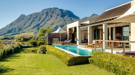 Delaire Graff Owner's Lodge, the Winelands, South Africa