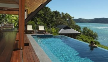 Qualia pool whitsundays