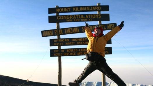 joyce at kilimanjaro