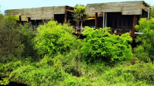 Exterior view, Singita Concession, the Kruger, South Africa