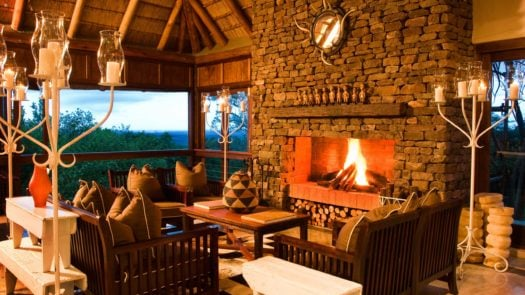 Interior, Phinda Mountain Lodge, Phinda, South Africa