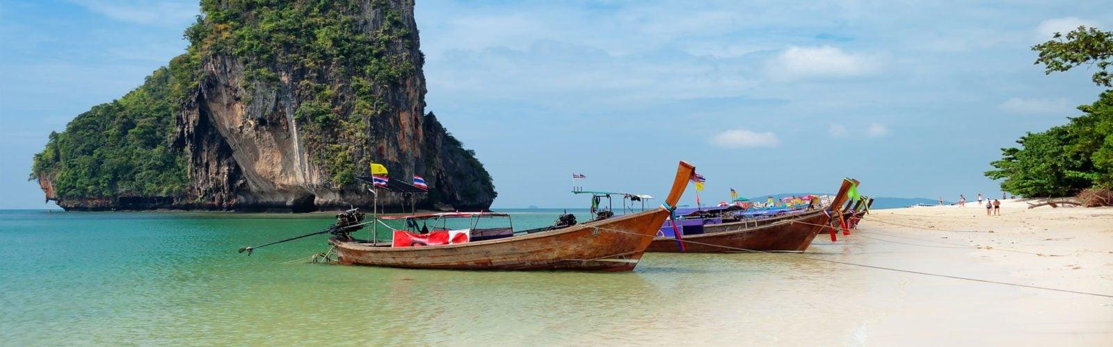 White sand beach, Thailand
